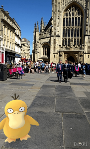 Bath abby Pokemon duck small