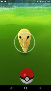 Kakuna Pokemon go