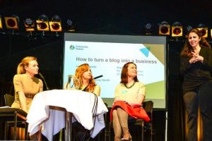 Festival of female entrepreneur panel