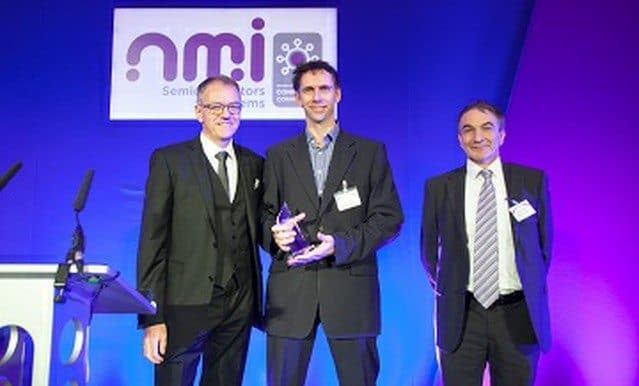 Jim Hutchinson of Fusion Processing receiving the NMI award