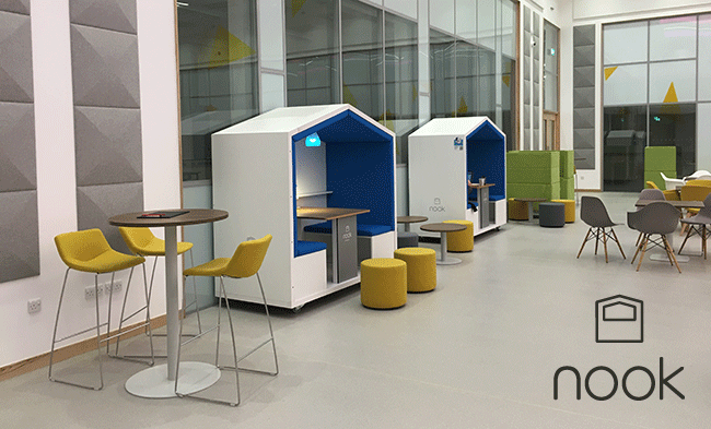 Bristol Born Nook Ships Its Portable Workspaces To Adidas Amsterdam Offices TechSPARKco