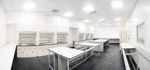 Unit DX Internal view of Lab