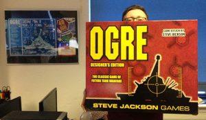 Auroch digital games designers with original ogre board game